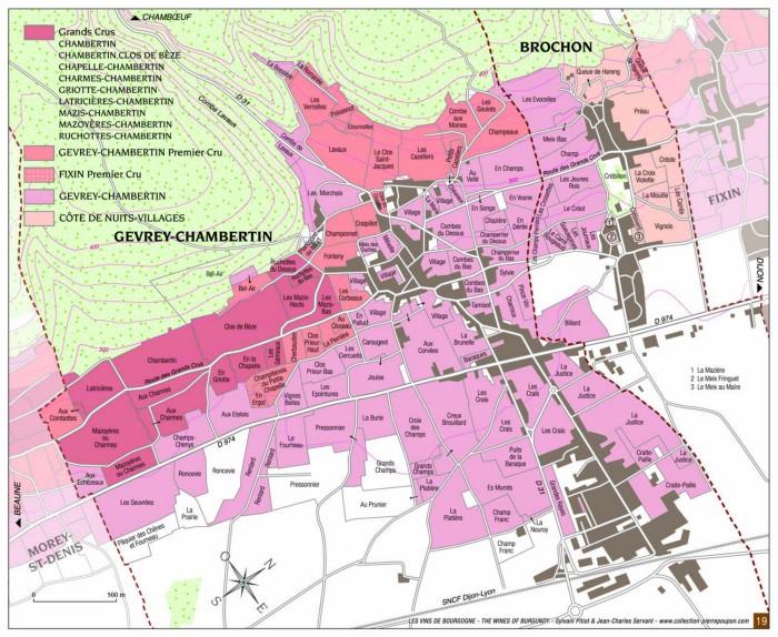 Gevrey-Chambertin Map