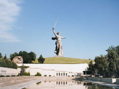 Волгоград в октябре