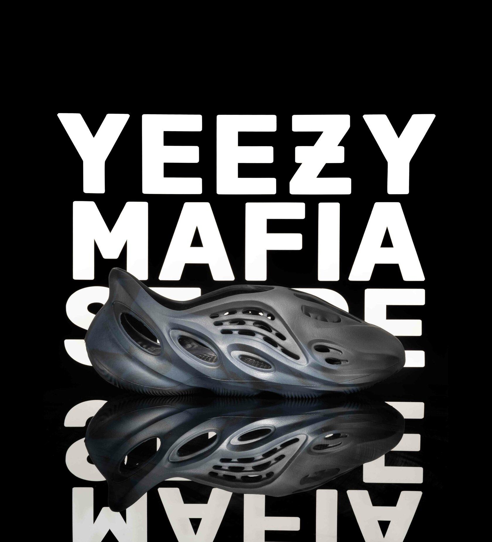 Adidas Yeezy foam runner mineral blue купить