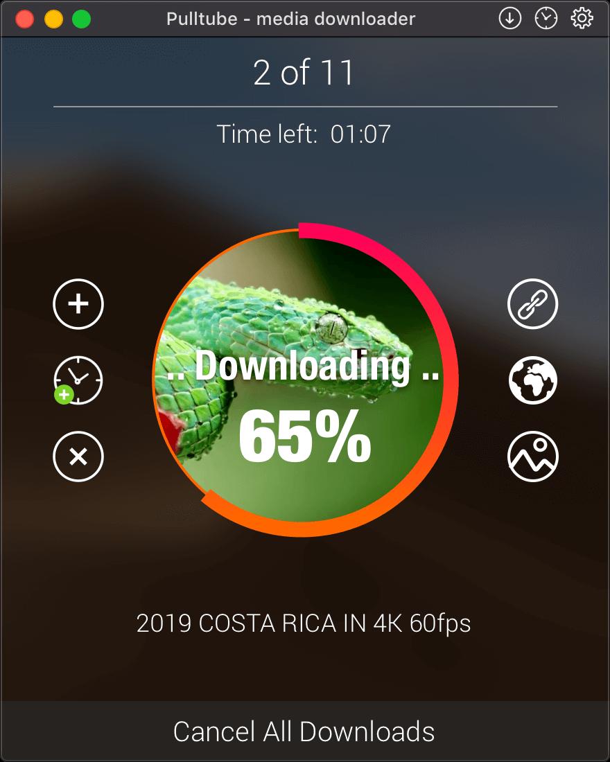 Pulltube – beautiful online video downloader