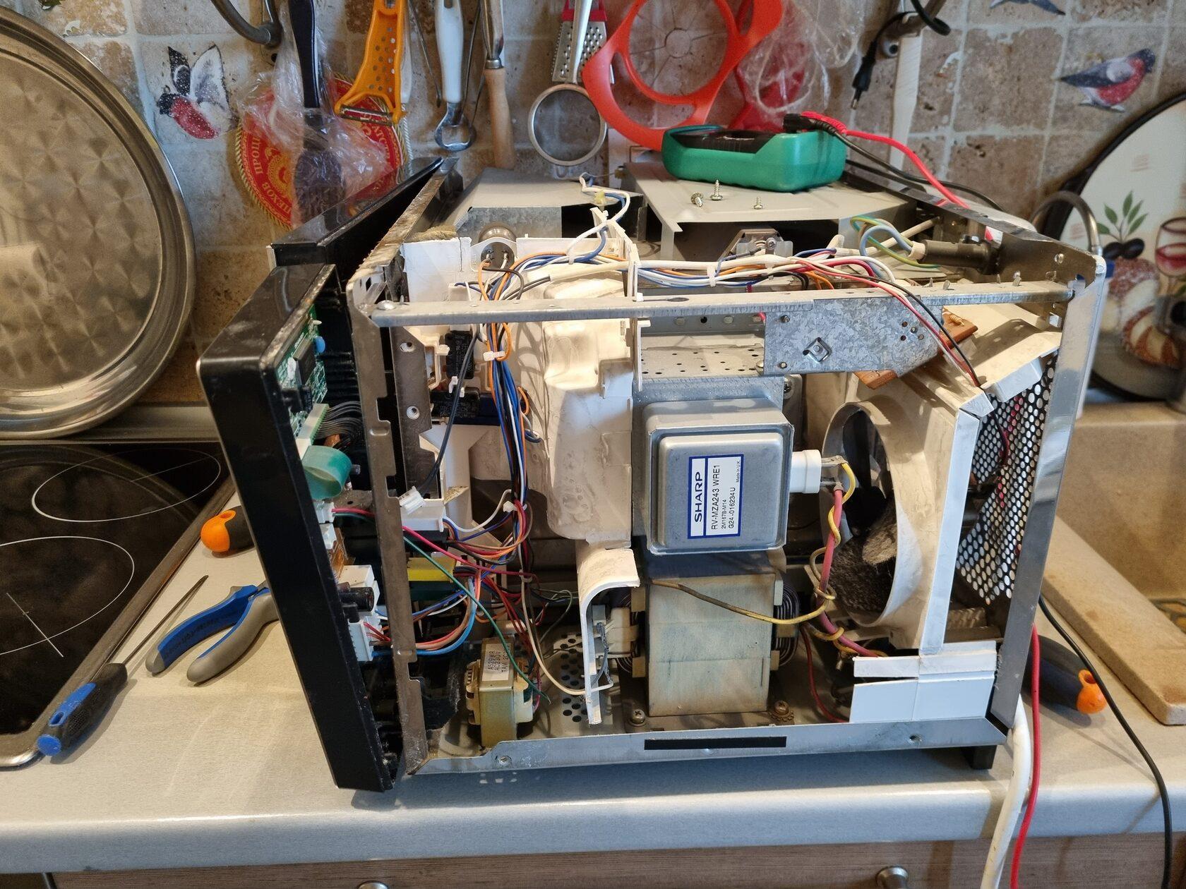 ремонт микроволновых печей в москве Sharp