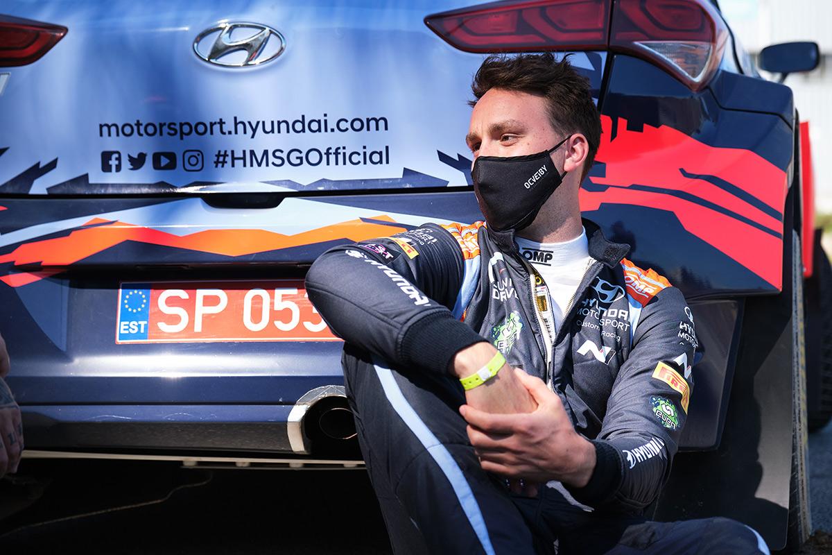 Уле-Христиан Вейбю (Hyundai Motorsport N), ралли Португалия 2021