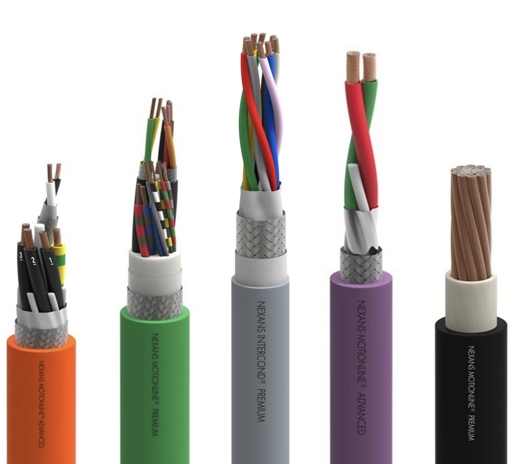 Кольорове кодування кабелів NEXANAS DESINA