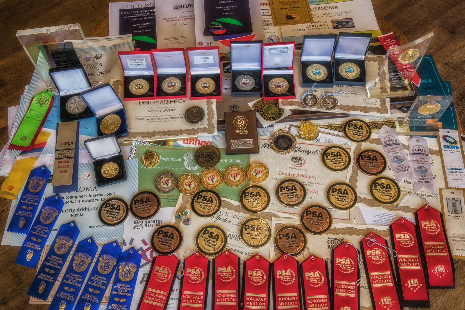 PSA, FIAP etc photo awards