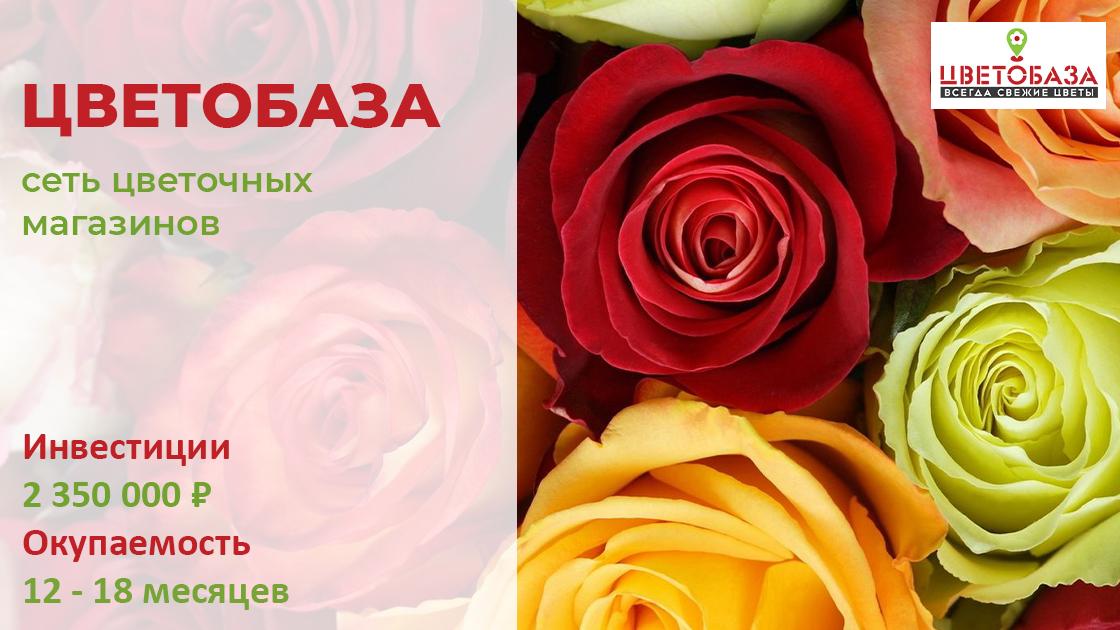 Купить франшизу цветочного магазина   Купить франишзу.ру