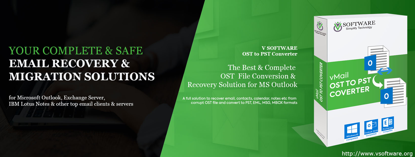 vMail OST to PST Converter | OST Recovery