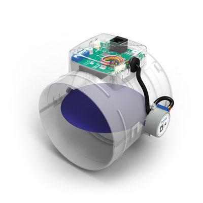 датчики для контроля уровня CO2, влажности RH и запахов VOC, адаптивная система вентиляции