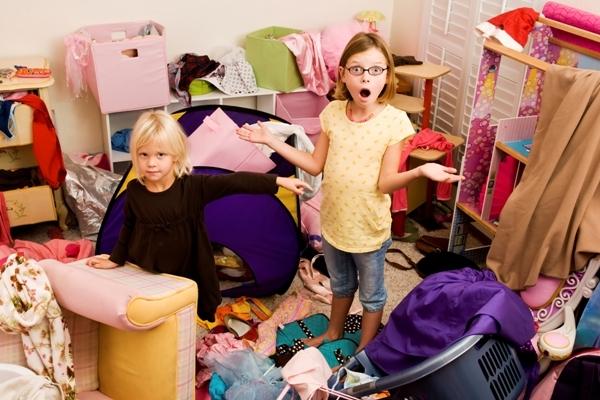 дети, уборка, хаос, порядок в доме