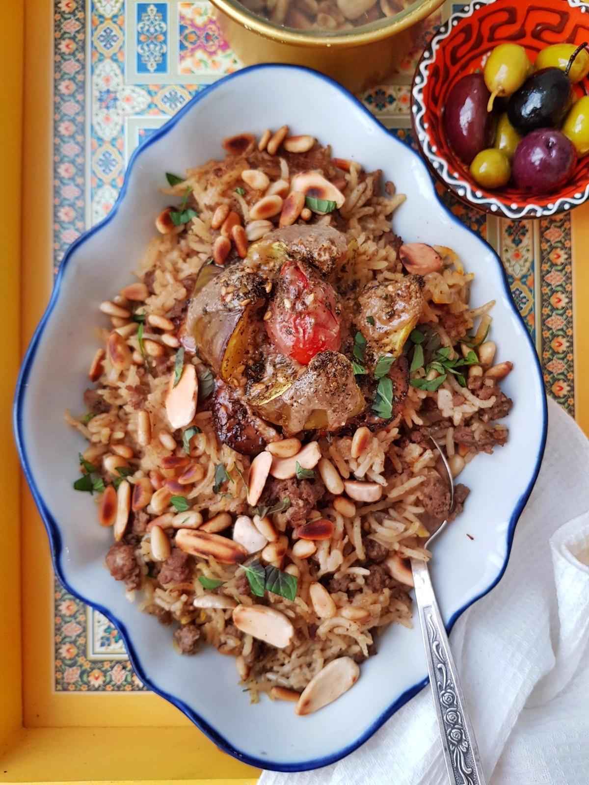 Рис с бараниной (Мансаф). Восточная кухня. Фото рецепт.