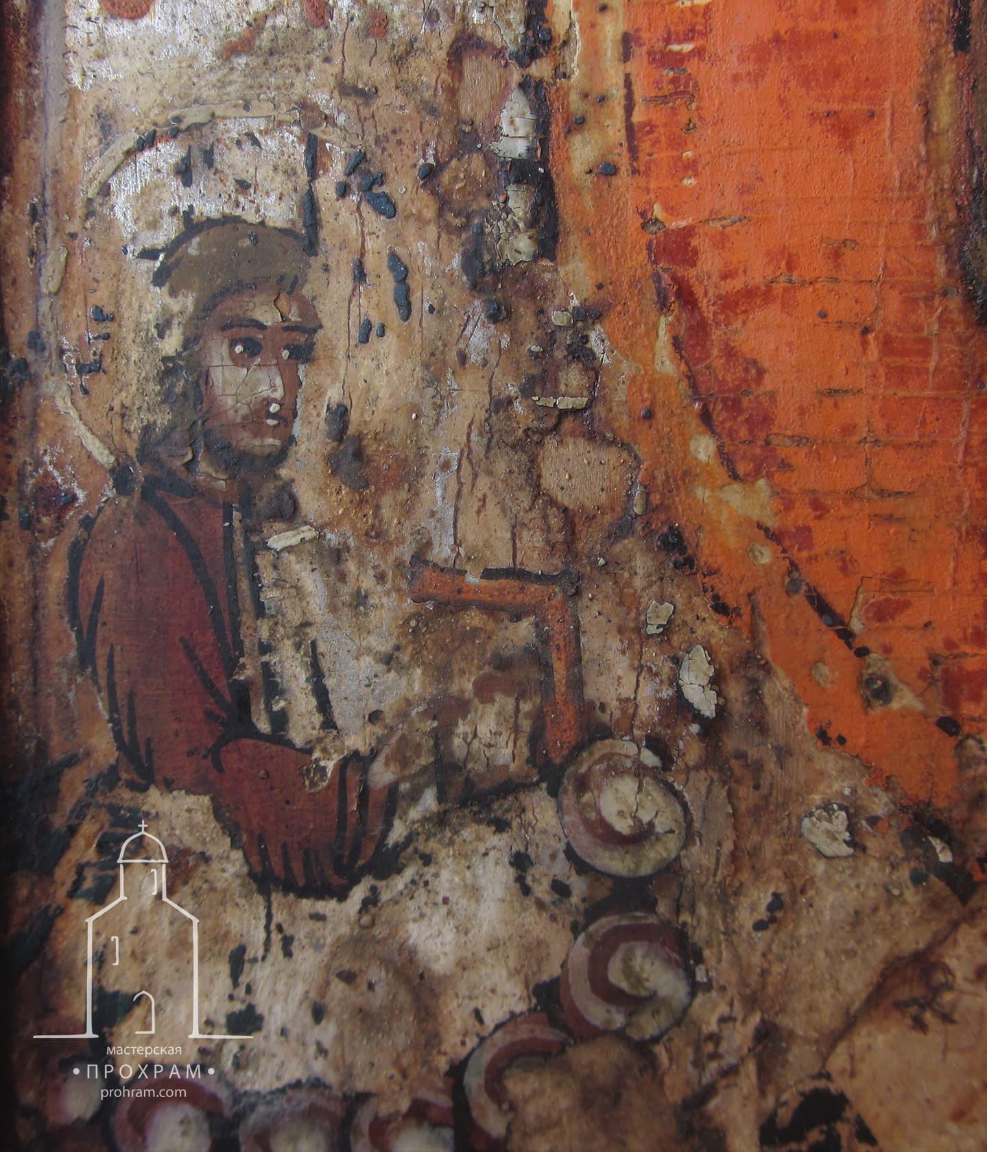Реставрация, Св. Николай, реставрация икон, реставрация икон этапы, реставрация иконы фото до и после