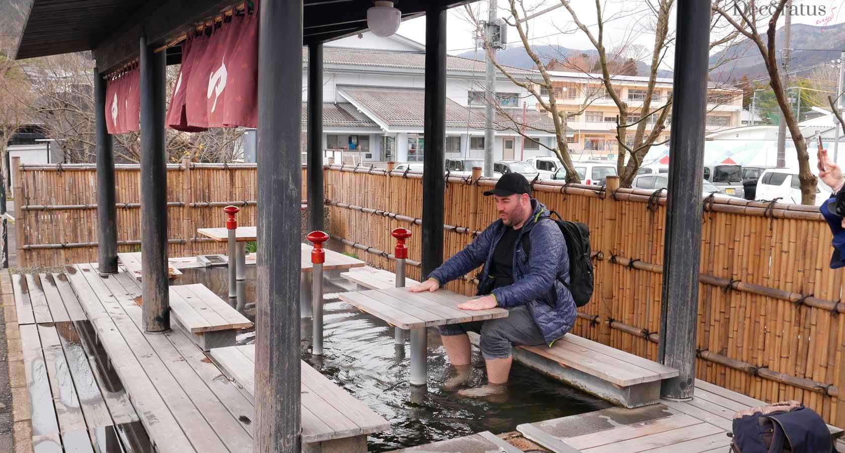 термальный курорт юфуин япония