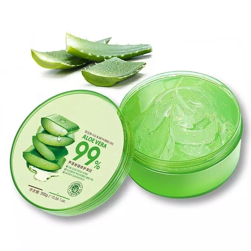 Концентрированный гель-крем для интенсивного увлажнения. Natural Care Aloe 99% Soothing & Repairing Gel