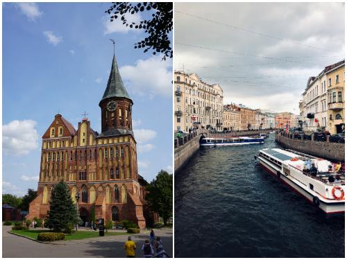 Калининград и Петербург в июле