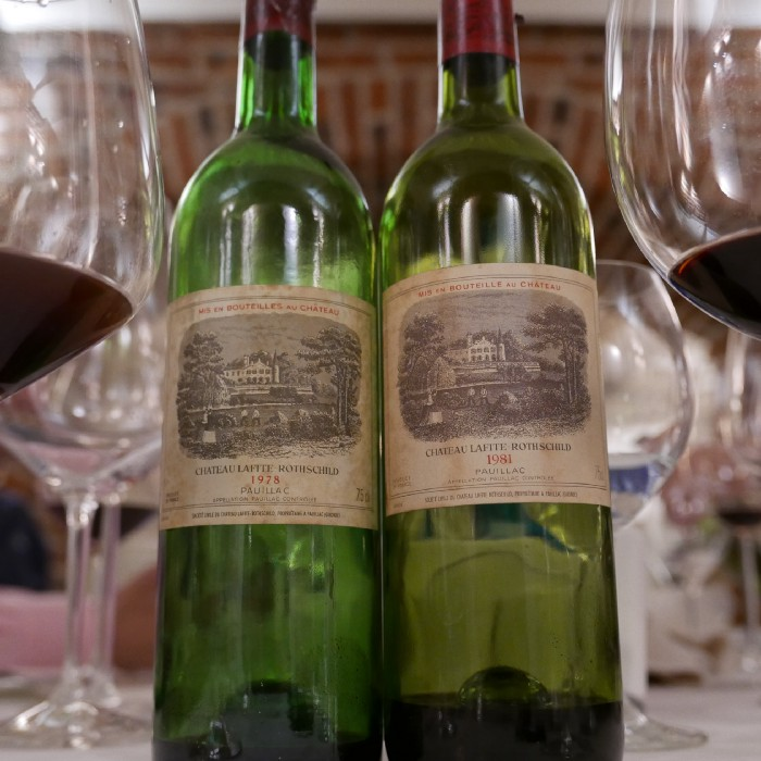 Chateau Lafite Rothschild 1978 and 1981