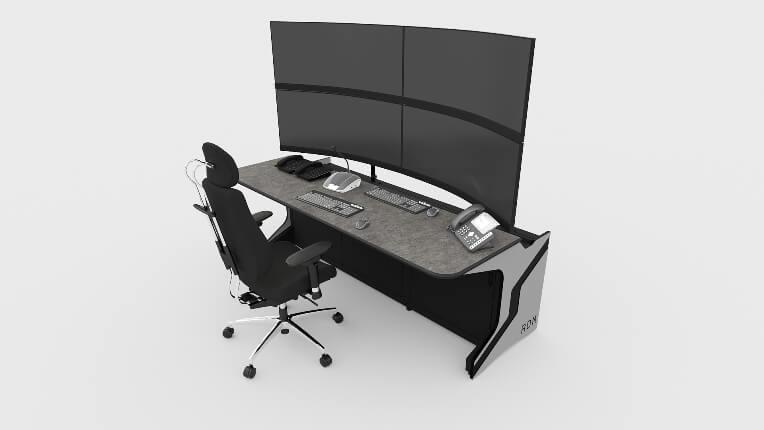 Диспетчерская мебель для АО «СО ЕЭС»