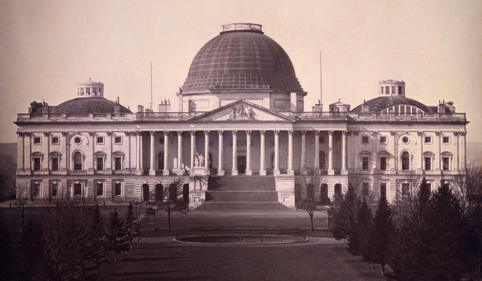 Капитолий, дагерротип 1846 года.