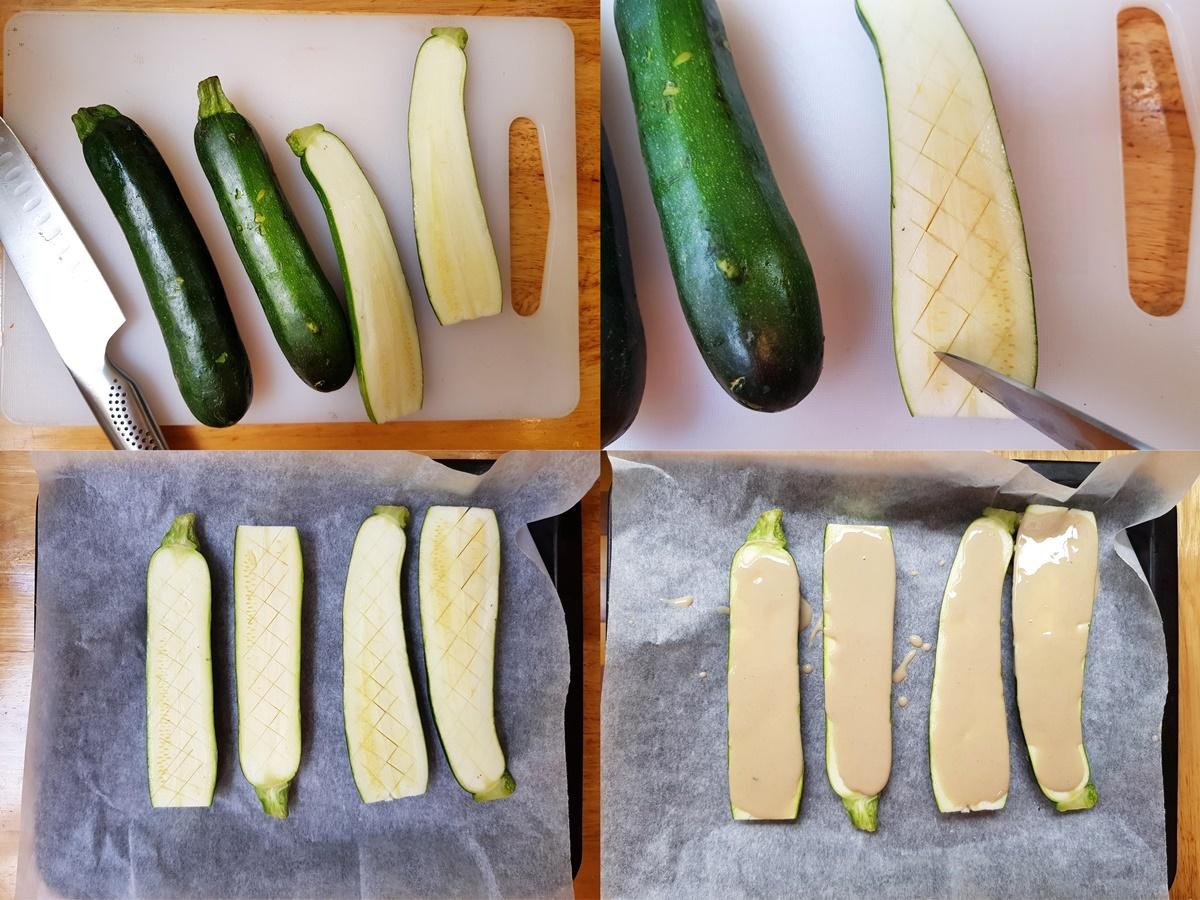 Фото рецепт - кабачки (цукини) в духовке. Блог Вкусный Израиль.