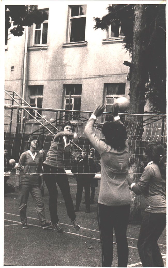 Секция волейбола