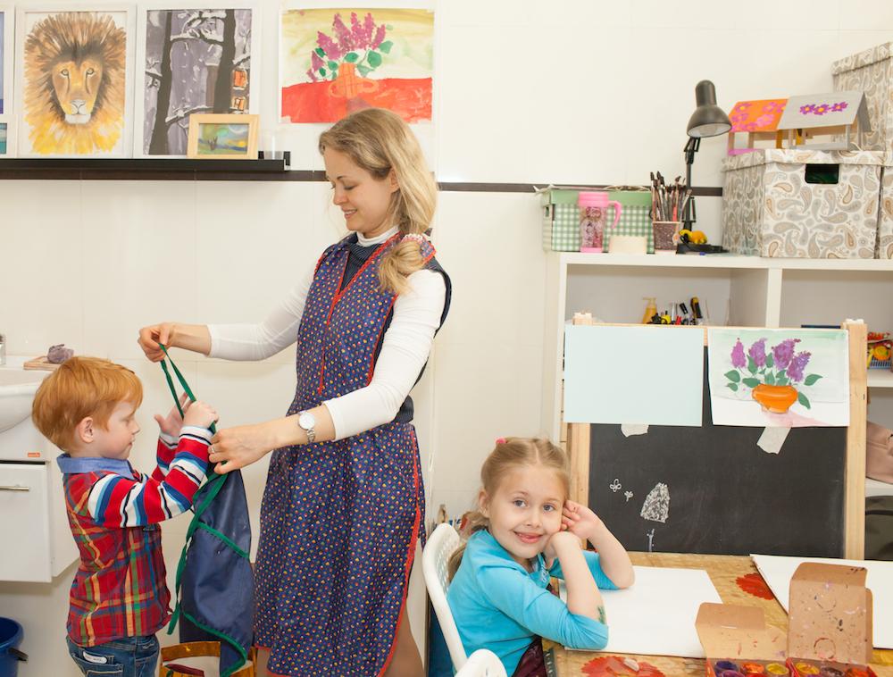 изостудия коммунарка тропарево ленинский  рисование для детей