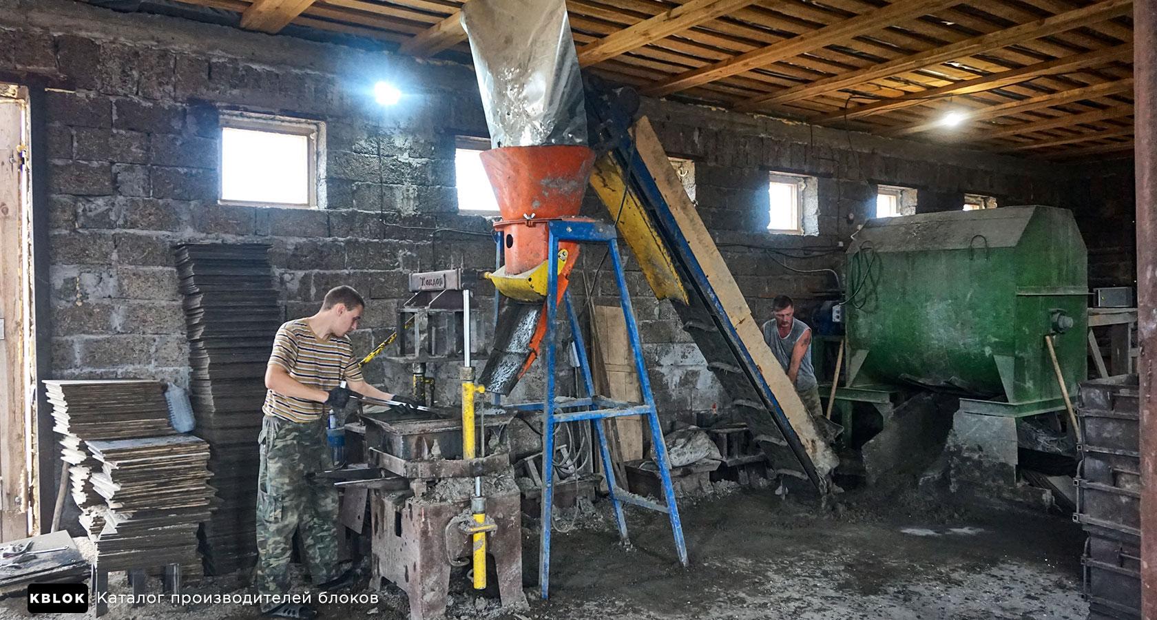 выпуск арболитовых блоков в Кирове