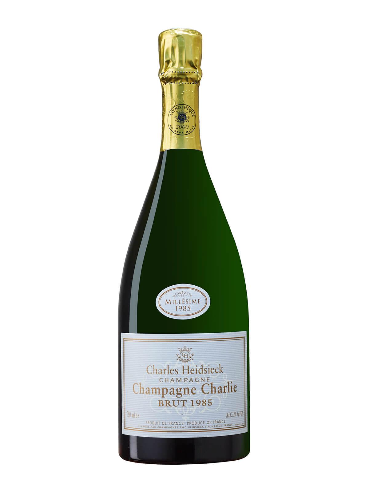 Charles Heidsieck Champagne Charlie Brut 1985