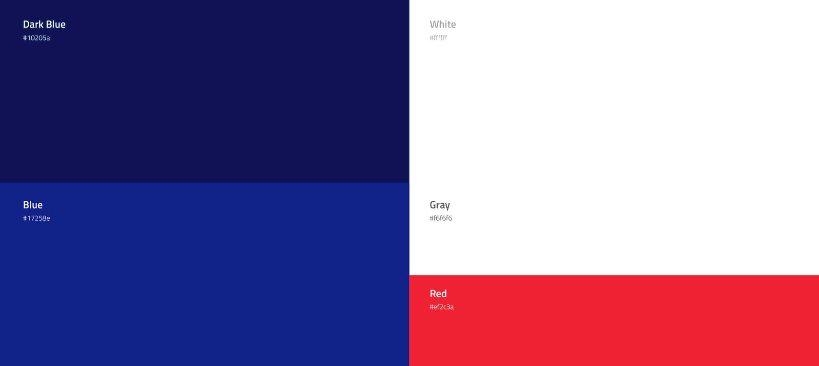 Fintech brand colors