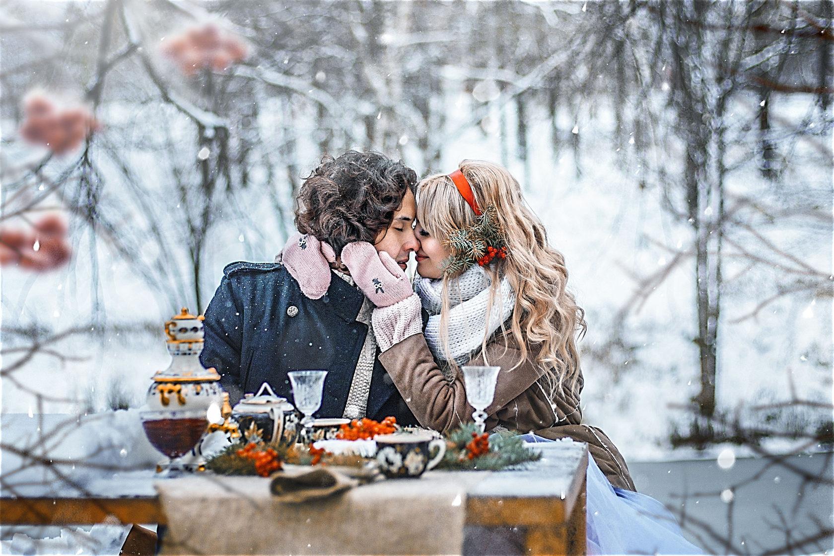 красивые фото о любви зимой стороны считали самым
