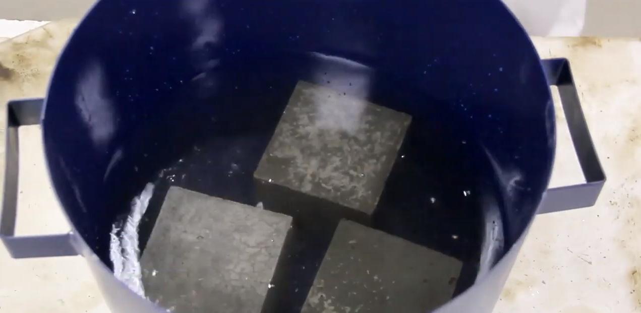 Водопоглощение бетона это цементный раствор для пгс