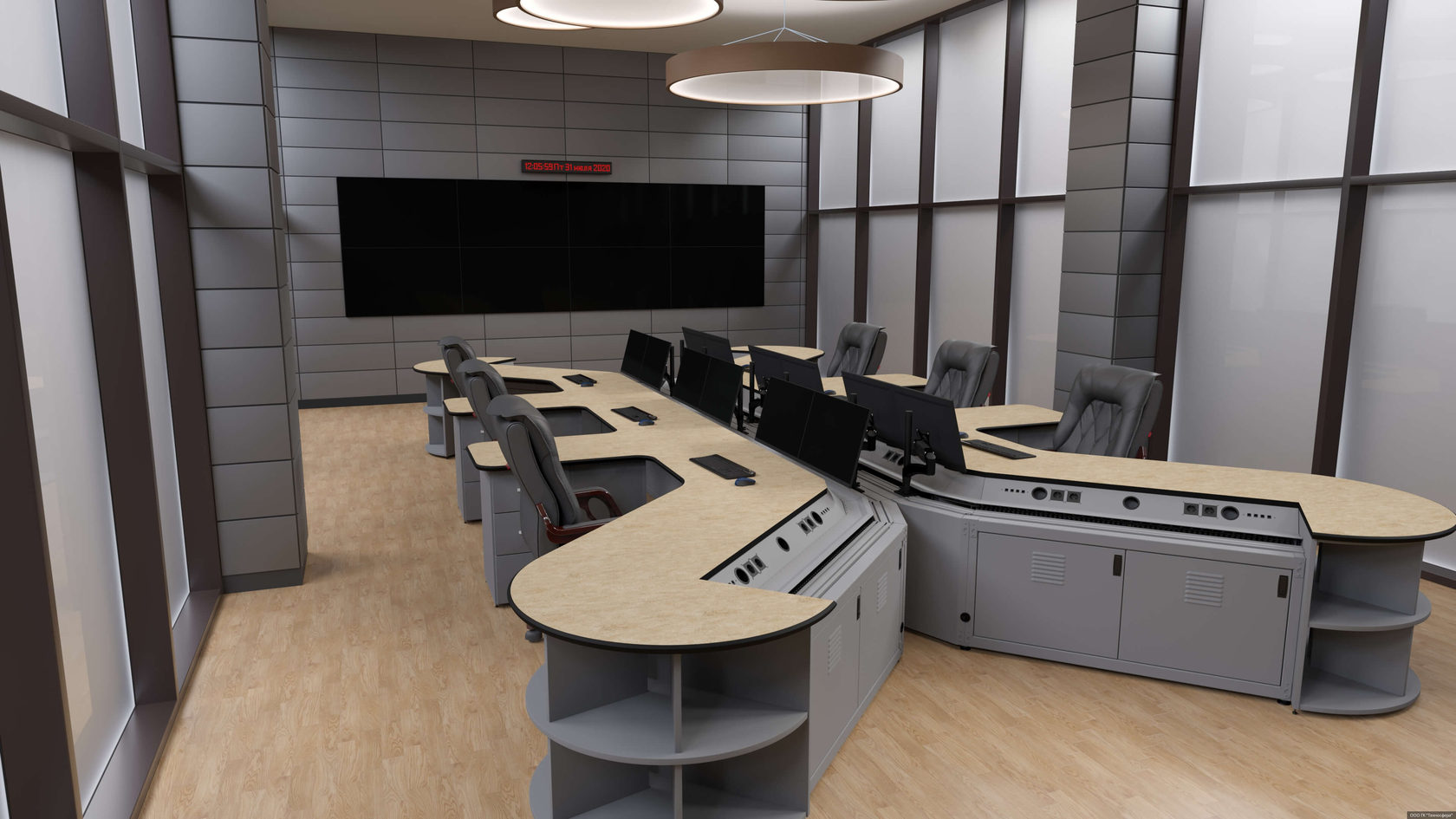 Требованиям к мебели для диспетчерских пунктов