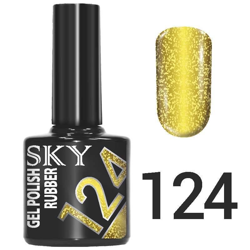 Sky gel №124