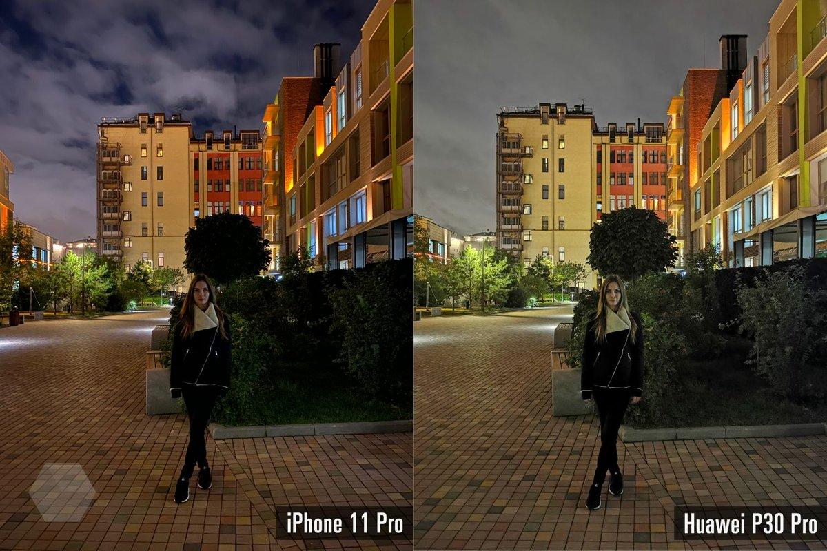 Вы только взгляните на разницу межлй снимками, сделанным на айфон 11. и бюджетным смартфоном