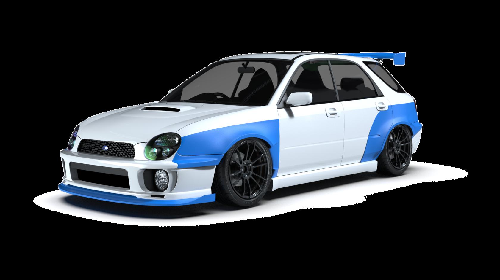 2 Subaru Impreza Wagon Wrx Sti