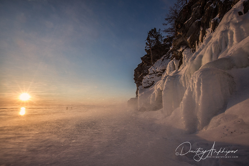 Ice myst of Baikal Lake