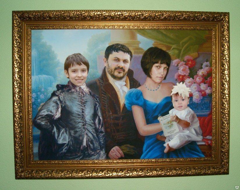 Портрет на холсте с фотографии оренбург