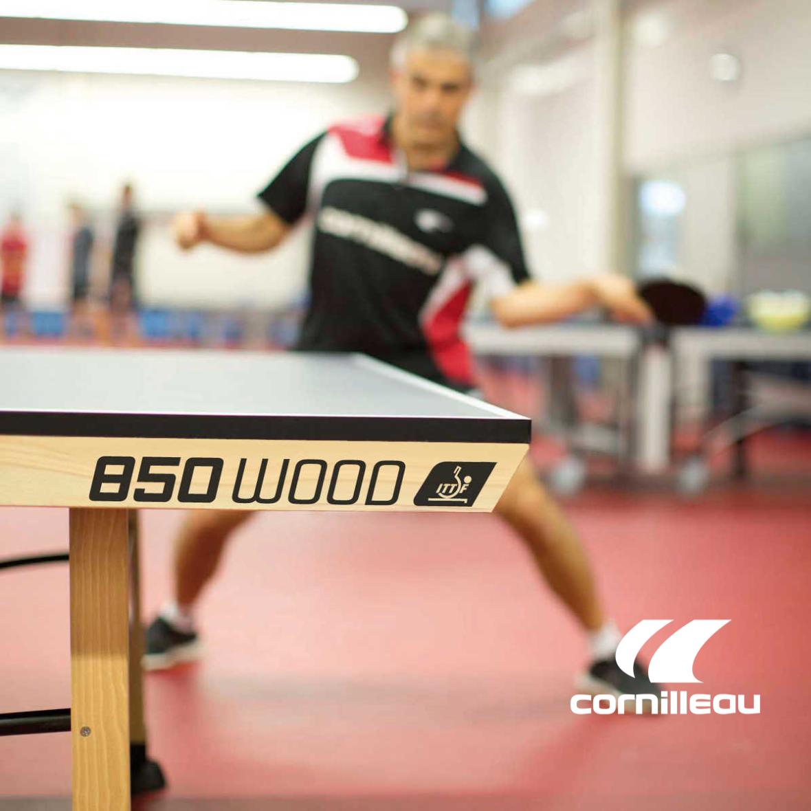 Линейка теннисный столов для профессионального спорта Cornilleau Competition ITTF