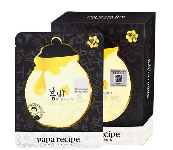 Черная маска с мёдом Papa Recipe Bombee Honey Mask Black