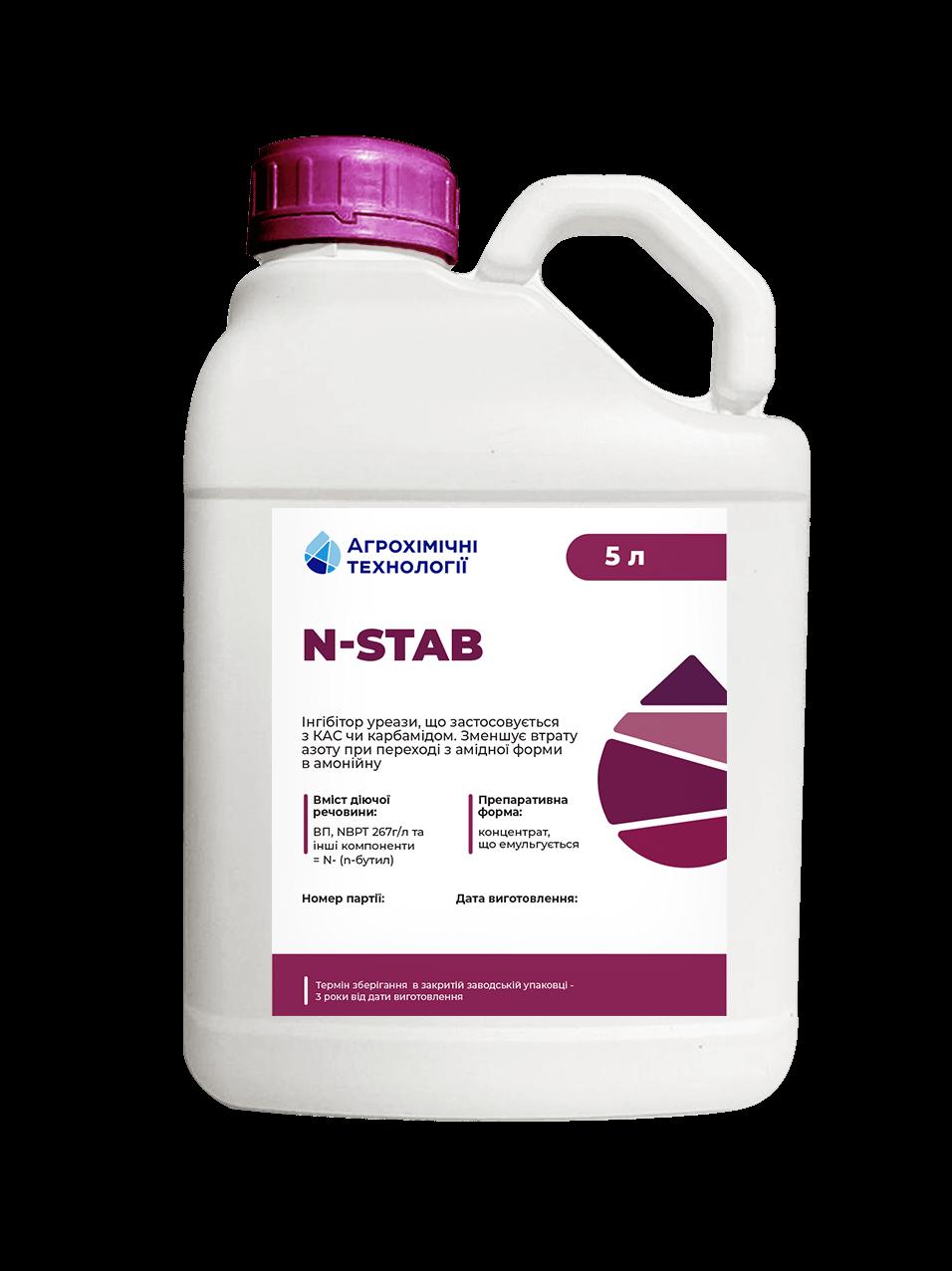 n-stab, зменшення втрат азоту, уменьшения потерь азота
