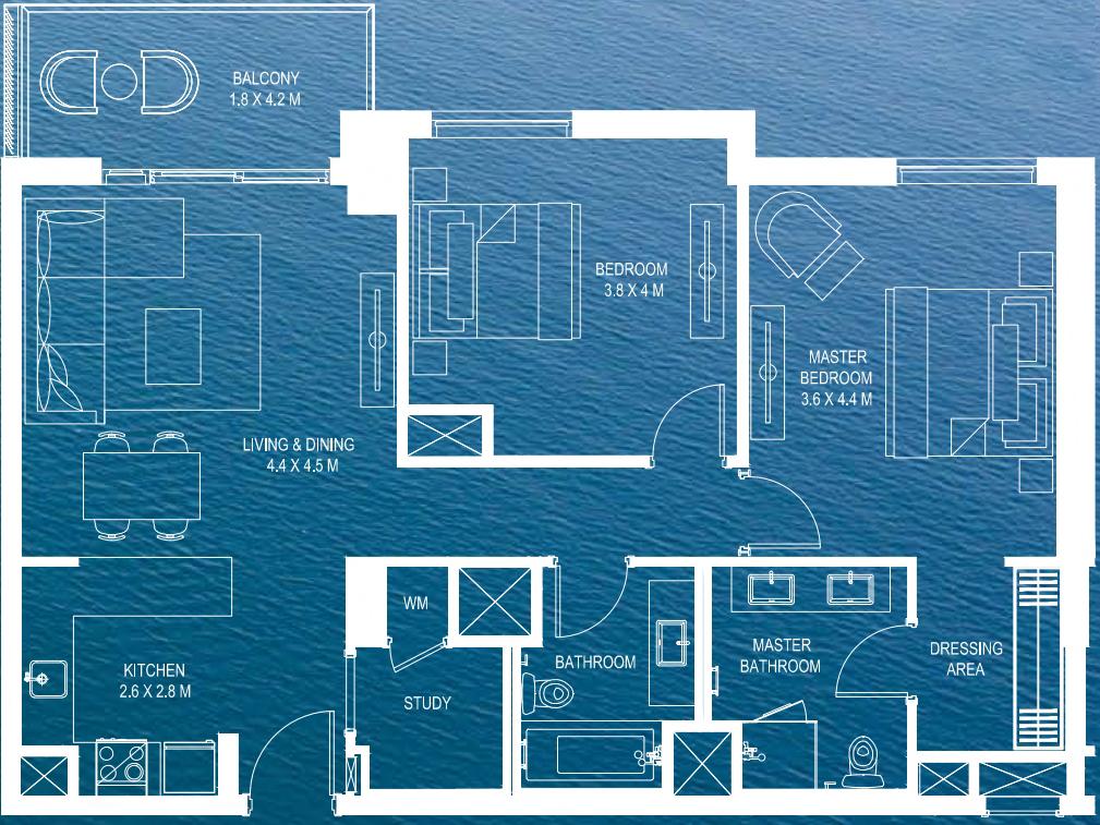 waters edge floor plans