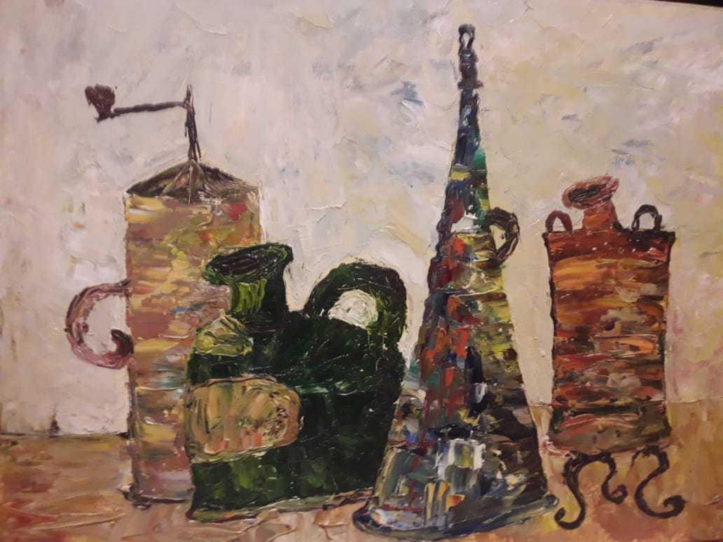 Зубкова Евгения / тема «Натюрморт» / масло