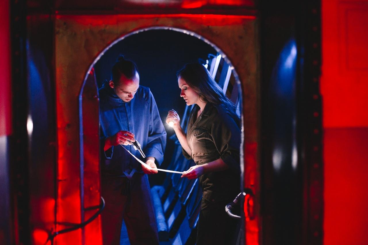 Иммерсивный спектакль-игра «Анабиоз» в Санкт-Петербурге. Интересная локация,герой квеста.