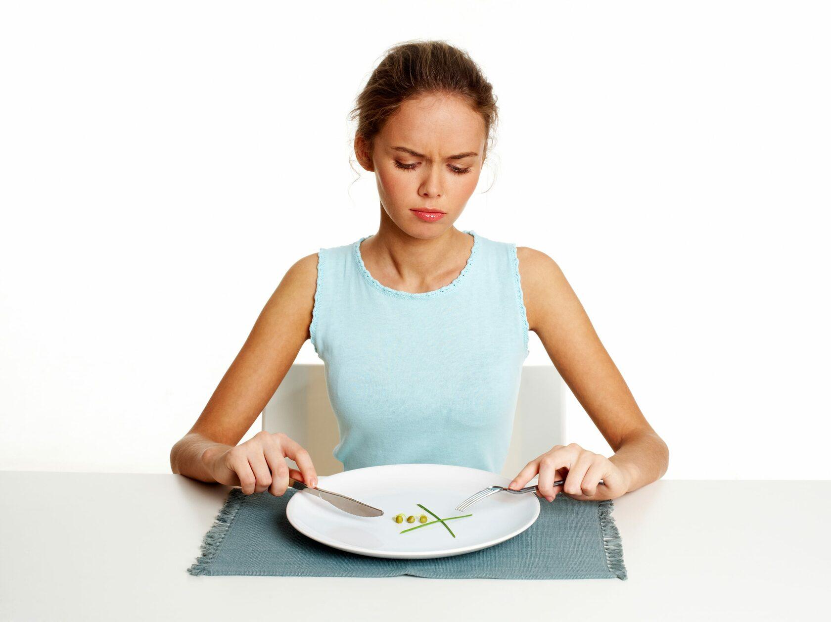 Головная боль  во время голода