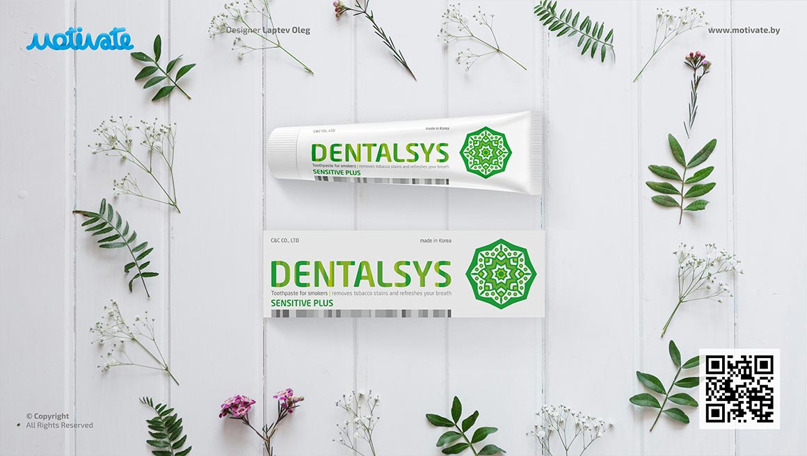 Дизайн упаковок зубных паст