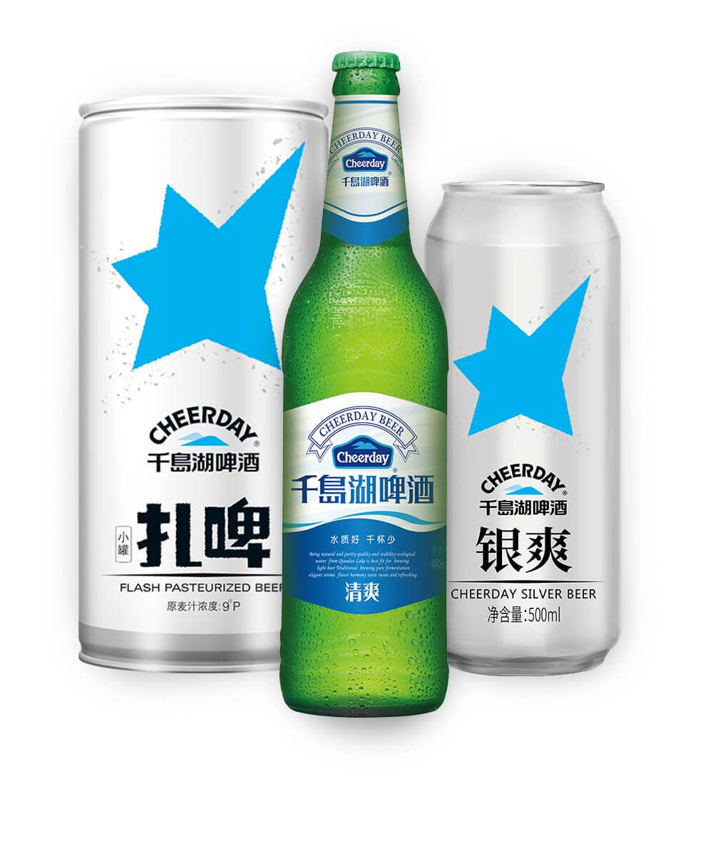 Китайское пиво Cheerday оптом от официального дистрибьютора Hangzhou Qiandaohu Beer Co