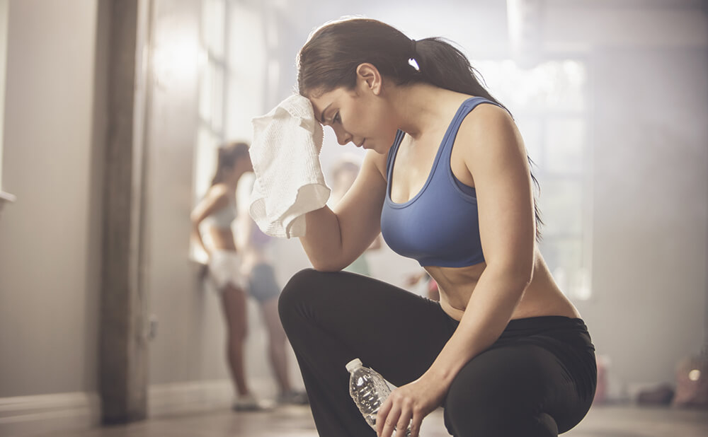 головная боль после тренировки