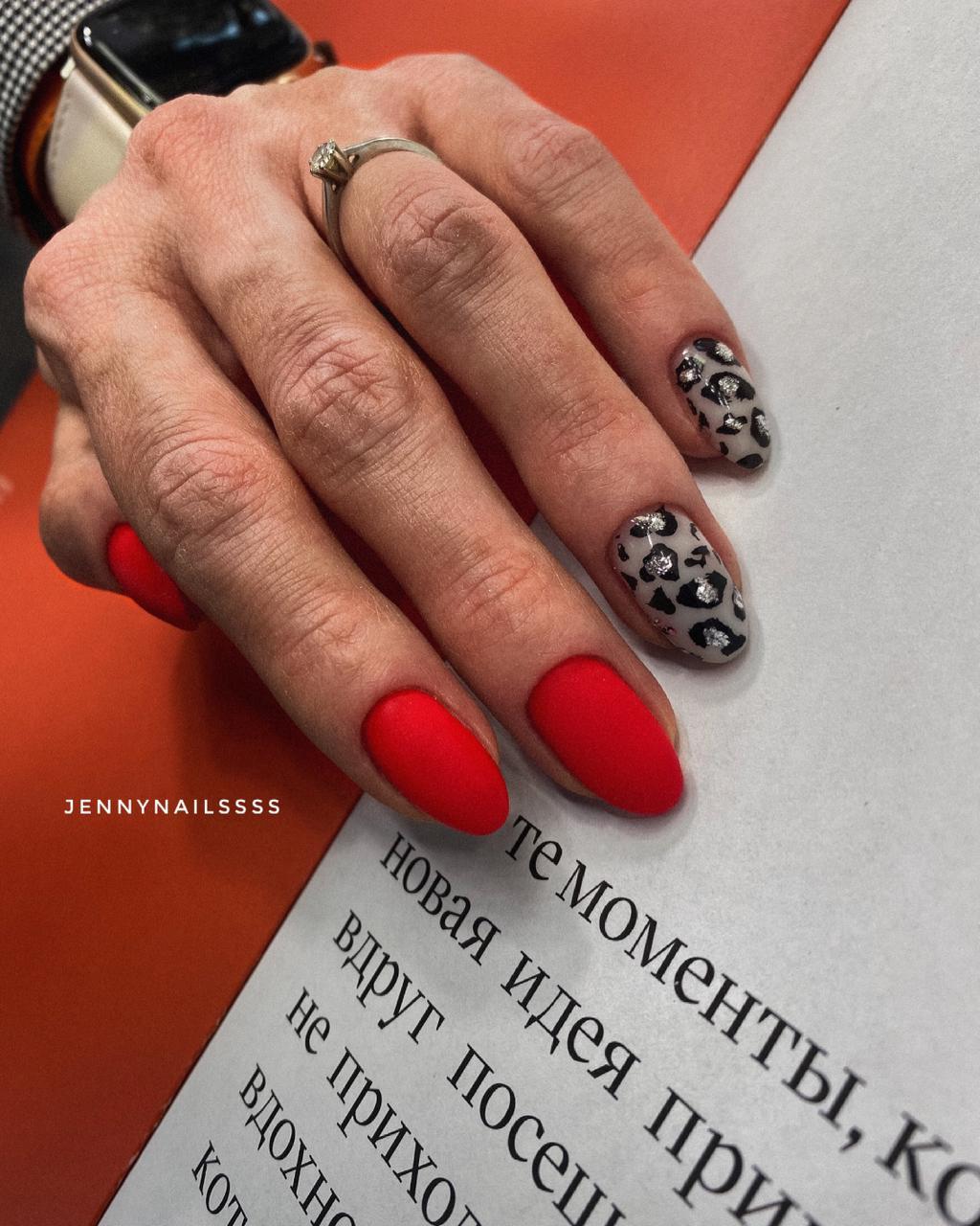 длинные ногти маникюр москва