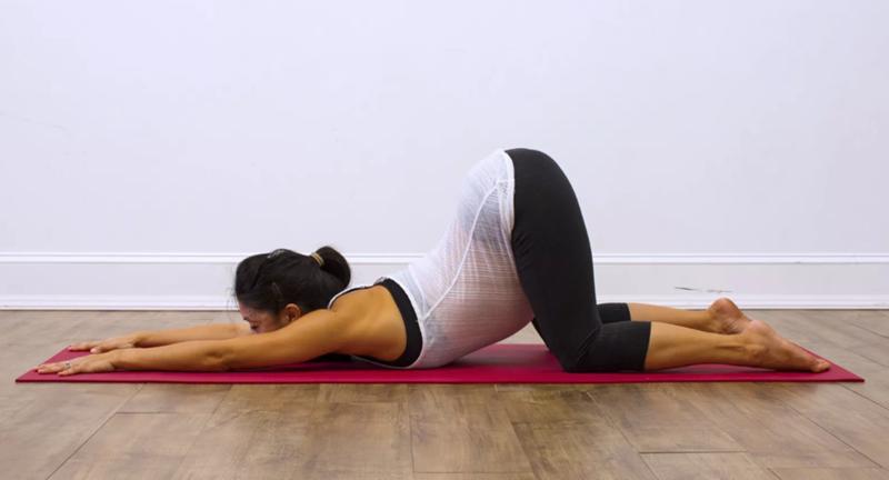 Йога для укрепления позвоночника