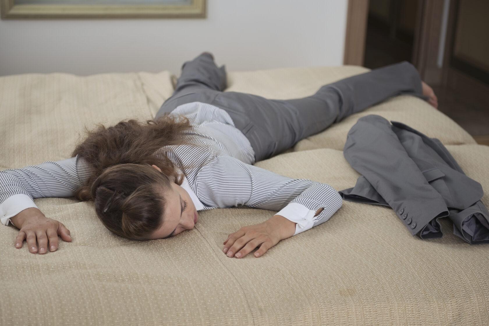 усталость по вечерам