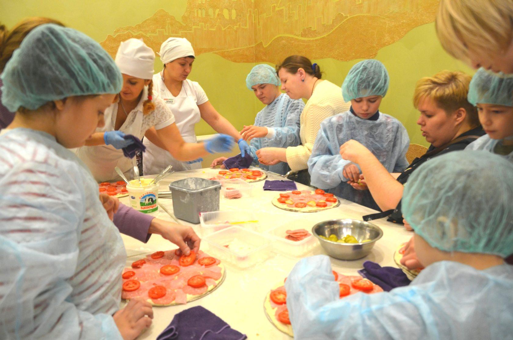 Мастер-класс по приготовлению пиццы в пиццерии Лацио, Лермонтово