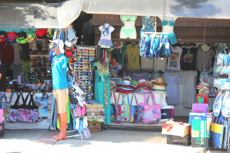 Вещевой рынок в Лермонтово
