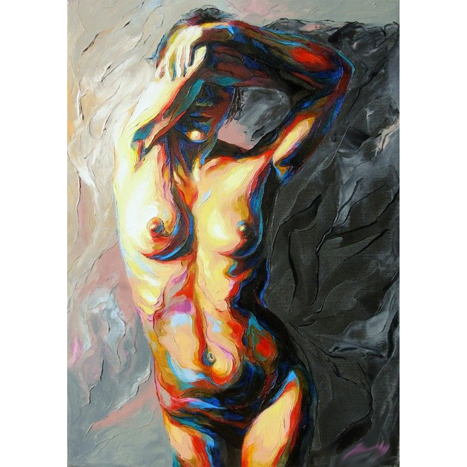 black-naked-oil-painting-woman
